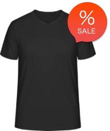 Promosyon V-Yaka Tişört