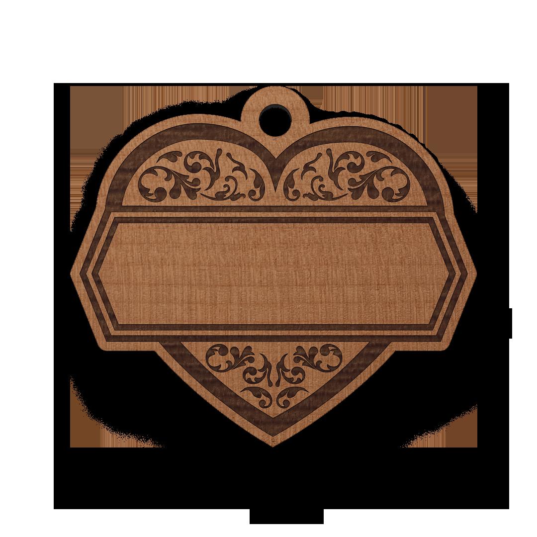 Ornamentální srdce
