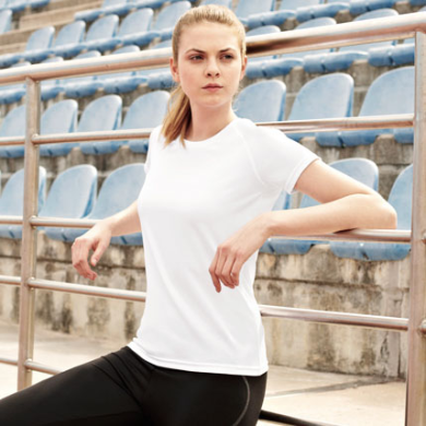Fruit of the Loom Performance T Lady-Fit T-shirt bedrukken