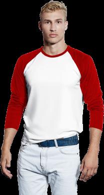 Promodoro Men's Baseball T-shirt bedrukken