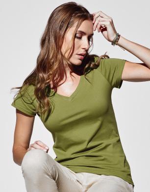 Stedman Janet V-Neck T-shirt bedrukken