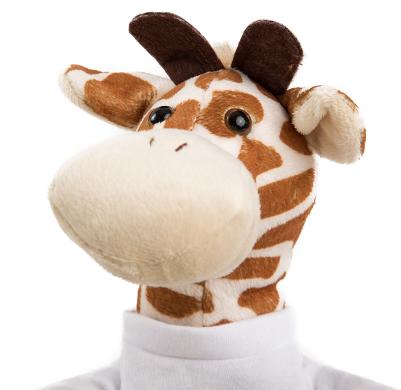 Giraf knuffeldier bedrukken